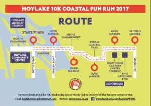 hoylake 10km map 2017