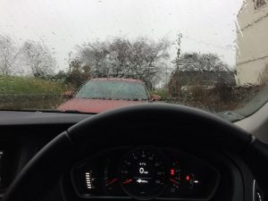 helsby half dont want to leave the car